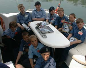 Sea Cadets on Missing Link