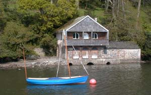 Agatha Christie's house on the River Dart